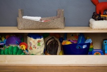 Toy storage ideas / Different ways to stow toys / by Julie Rudolph
