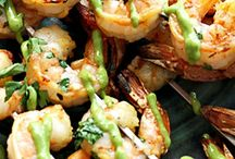 shrimp time & other food
