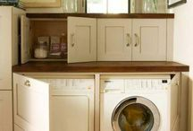 Tiny laundry- big solutions / by Debbie Ferguson
