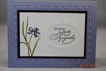 SU Tulips Embossing Folder cards
