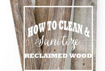 madera a reciclar