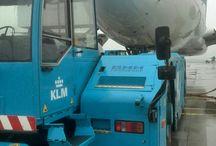 KLM Aircraft Towing