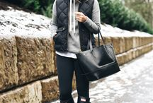 Winter outfits / Cold winter outfits frío lluvioso rain