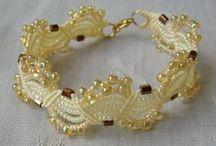 beaded, jewelry / Visit Fleur de Lis Quilts at www.fleurdelisquilts.blogspot.com #fleurdelisquilts, #marymarcottequilts