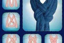 Завязывать шарф