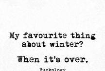 winter:qoutes
