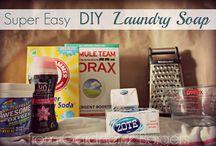DIY laundry soap / by Lisa Flieg