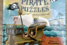 Pirates and Mermaids - Children's Books / Libri in inglese per bambini che hanno come protagonisti pirati e sirene.
