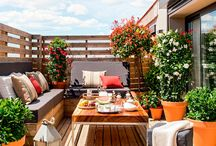 Small Rooftop Terrace