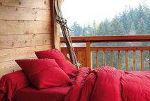 Kırmızı yatak odası dekorasyonu / Kırmızı yatak odası ve kırmızı yatak odası dekorasyonu