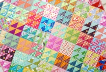 HST Quilts / Half square triangle quilts