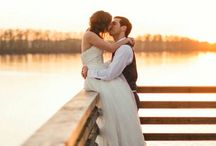 Outdoor Wedding Pose