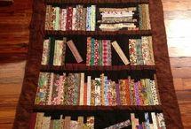 bookshelves quilt