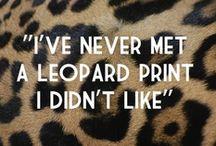 Leopard / by Jai Sparklepants Storm