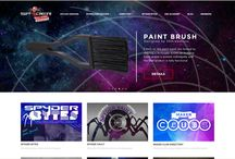 Spyder3DWorld Website / Updates and latest news about our websites