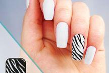 Stickers Nail art / Stickers pour ongles, création de Nail art