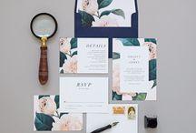 Wedding typography