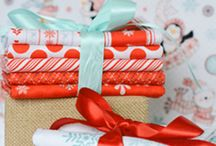 Wonder of Christmas / Celebrating the beauty and wonder of Christmas and Winter with fabrics, patterns, and inspiration!