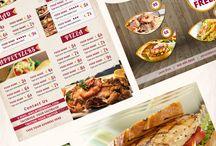 menu flyer