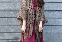 Crochet - sweaters, vests