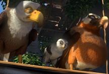 Zambezia / 'Zambezia' - Animated family film about a young falcon. No bird is an island. http://numet.ro/zambezia