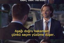 Supernatural 11. sezon gag reel