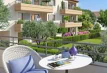 New apartments French Riviera / The latest new construction on the Côte d'Azur. Ask us about pricing and availability: info@livingonthecotedazur.com