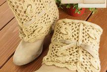 croshet boot