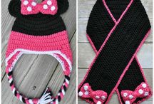 girls scarf and hat set