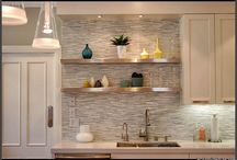 Kitchens with shelves / by Lori Austin
