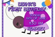 Diana's First Birthday
