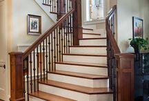 интерьер для лестницы