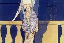 Art Deco Fashion Illustrations