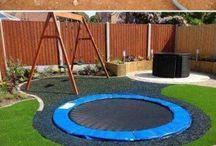 trampoline ideas