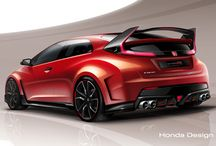 Хонда accord civic typer S R