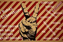 Nobel de literatura de habla hispana / Selección de obras de Premios Nobel de Literatura otorgados a escritores de habla hispana. Todos los documentos en Biblioteca pública municipal Manuel Alvar (Zaragoza).