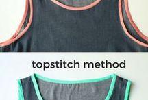 Tutorials - sewing