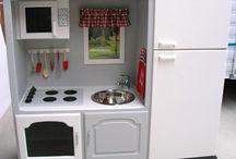 RePurposing For Kids / RePurposing / ReUsing items for Kids. Children's crafts or furniture.