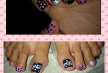 uñas mis diseños / uñas nail polish