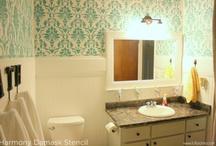 diy bathrooms / by Andrea Ives