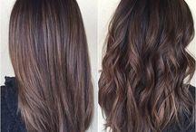 Choc brown hair
