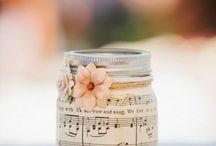 decoração música