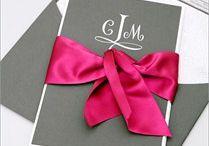 Pink and gray weddings / Wedding inspiration for pink and grey weddings
