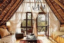rustic thatch