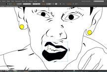 Dibujo e ilustraciones Deportivas!! / Dibujo a lapiz  Ilustracion en ilistrador y photoshop!!