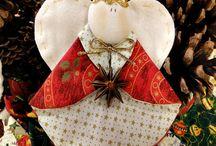 Christmas Ornaments Angels / by Liz Eggers