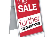 A Board Signs / Huge Range of A Boards  We offer a variety of affordable and high quality A Boards and A-Board signs which can be used in high foot fall areas, such as pavements and forecourts, in order to promote your brand, business or organisation. Our A boards are great for attracting lots of attention, promotion and simply directing people to the right place. You'll be sure to find the perfect product from the huge selection of A boards we have available.