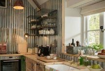 Repurposed kitchens