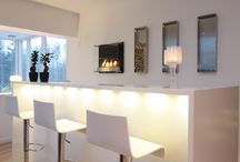 Elegant and stylish interiors / A livingroom, an office or a restaurant; decoflame®  fireplaces add style and coziness to any interior. Combining elegance, quality and safety, decoflame®  fireplaces can be placed anywhere, so just use your fantasy and bring life to your favourite spaces.