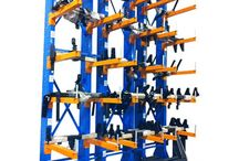 Cantilever Racking / Cantilever racking is ideal for loads that require no obstruction at the pick face, so that bulky and awkwardly sized or shaped products can be safely stored and accessed.